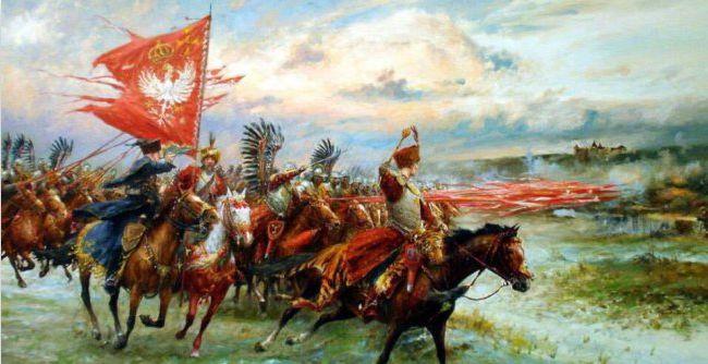 ▲翼骑兵对联军士气低迷的联军发起进攻