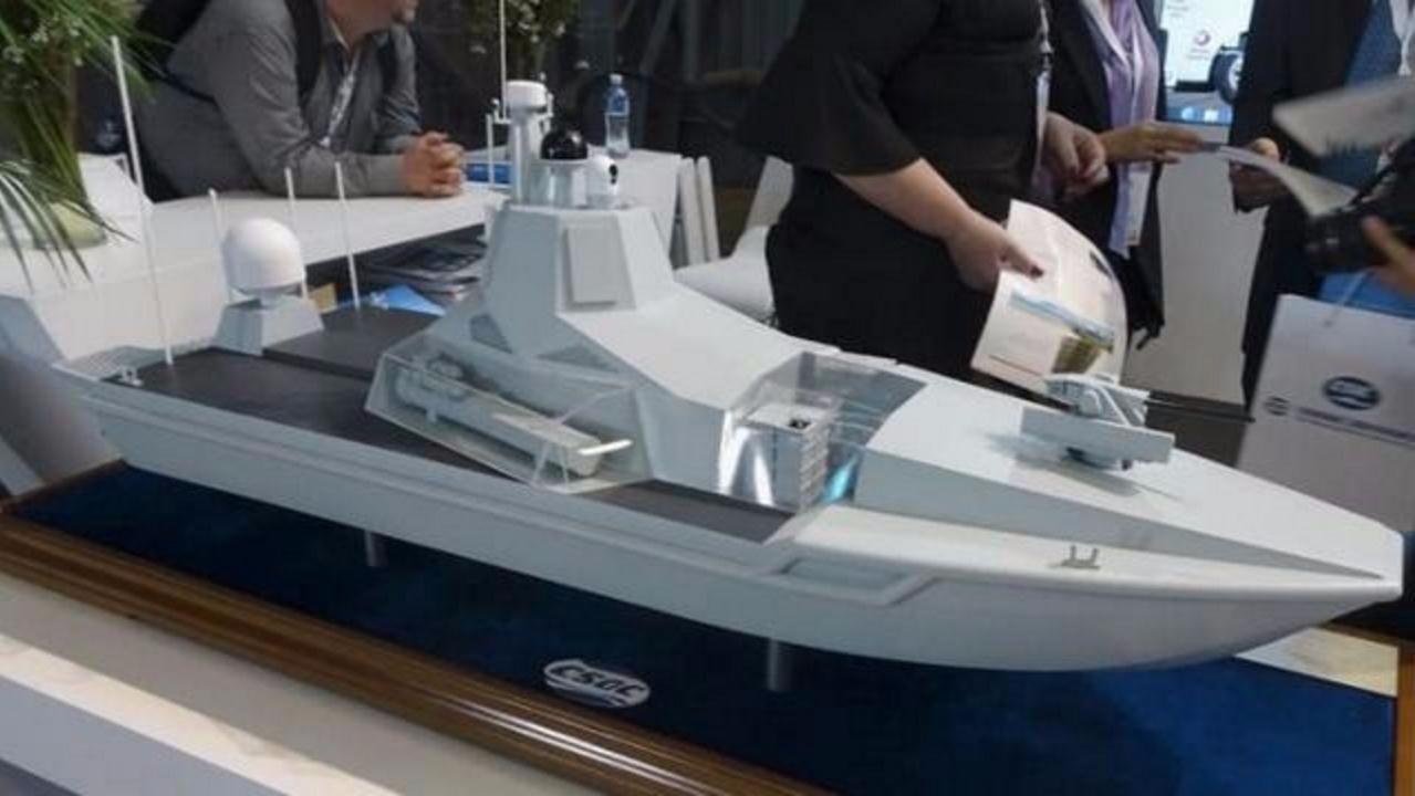 国产无人导弹艇露面:导弹系出名门,察打一体,全球第二!