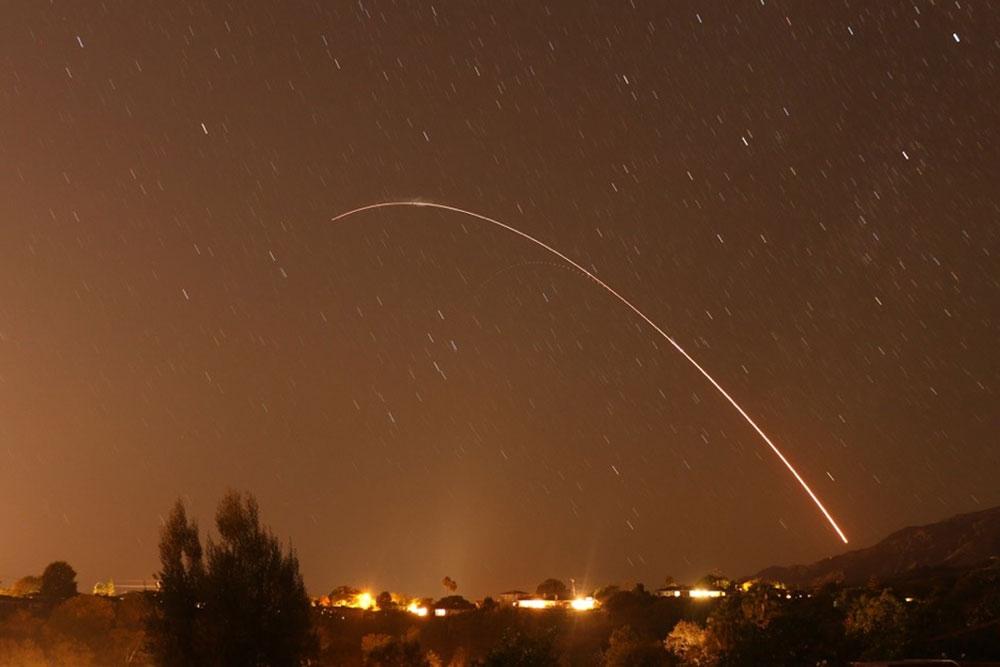 美空军成功进行民兵III洲际弹道导弹测试