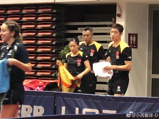 刘国梁秦志戬轮番上阵,为国乒冲击奥运史上首枚混双金牌保驾护航