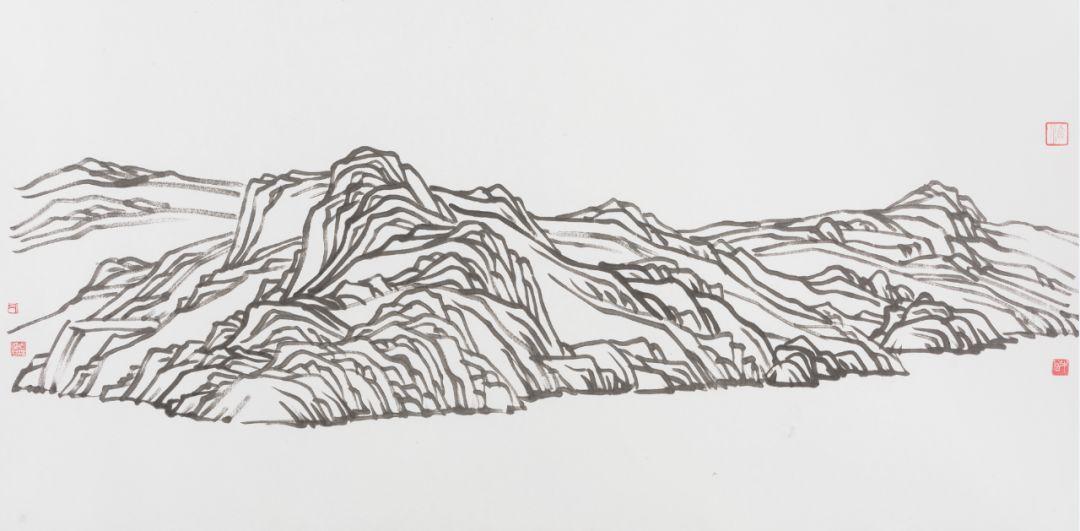 西川与许德民作品欣赏 | 灵性的回归——诗人画展深圳