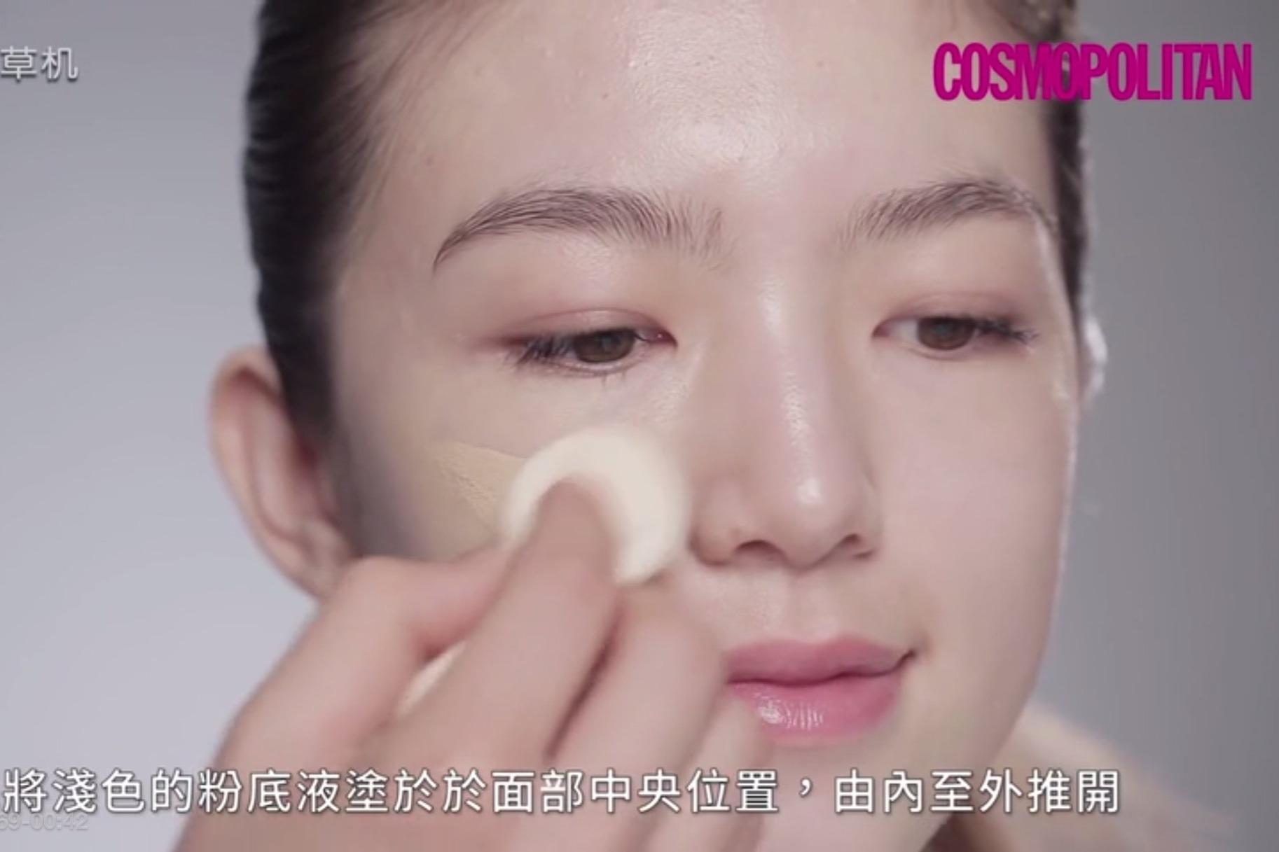 日本顶级化妆师教授透明底妆的要诀,男朋友绝对看不出你化了妆!