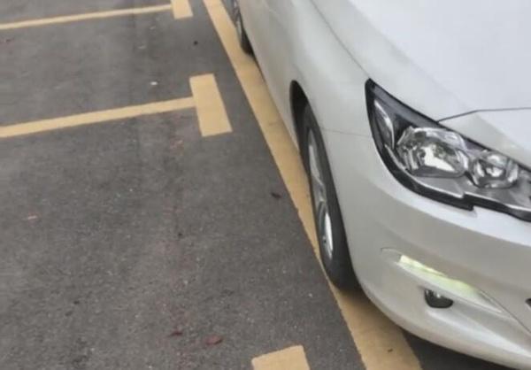 老司机教你用方向盘,判断左右车轮位置,新手司机一看就会!