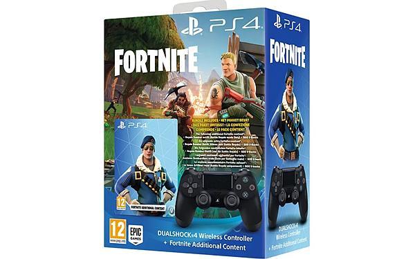 买手柄送物品?索尼推出《堡垒之夜》PS4手柄