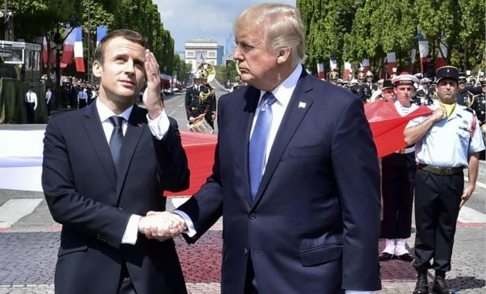 """声称要打造真正""""欧洲军队""""的法国又怂了"""