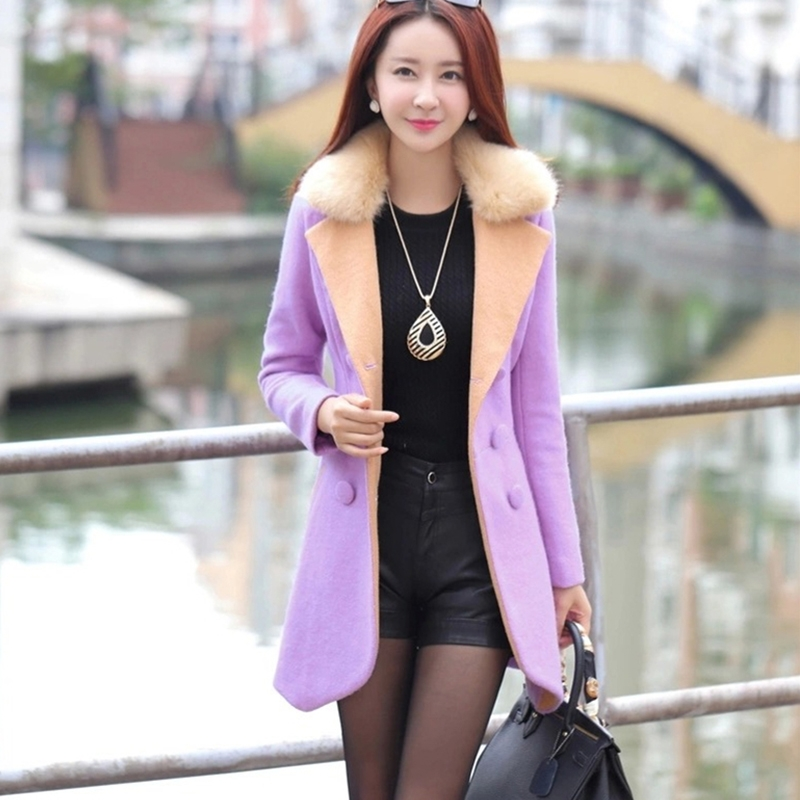 羊绒大衣已经不流行北京的女人就穿这样毛呢外套确实很洋气