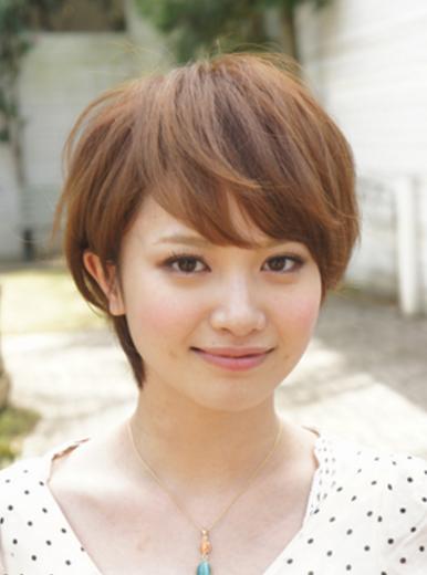 圆脸女生适合什么样式的短发?