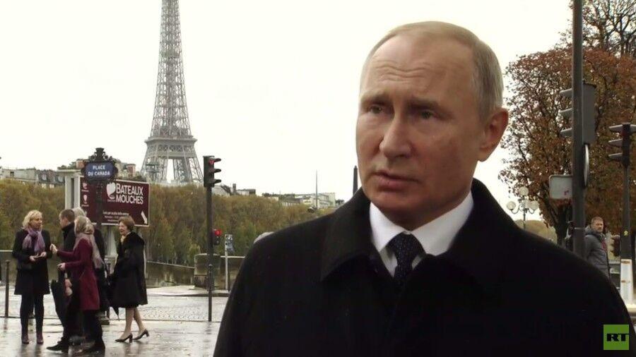 """马克龙想建""""欧洲军队""""防俄美 普京意外回应"""