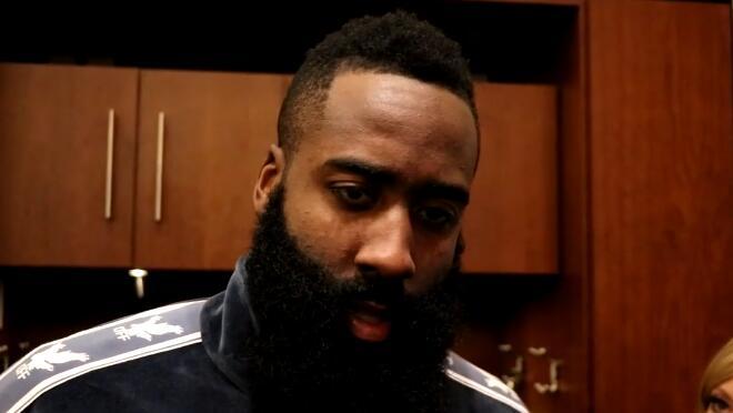 哈登谈表现:只要我还打篮球,我就会继续这么投