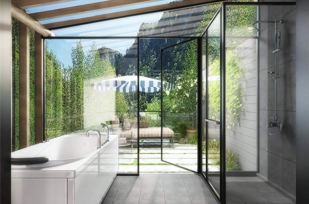 大开眼界!日本建全透明玻璃厕所,专为女性使用,网友:真会玩