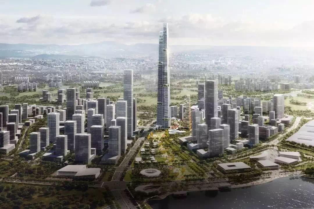 天府新区最新规划,这里才是中心!