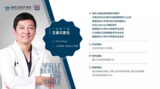 明星御用牙医王建文专访:成功并非偶然,钻研从未止步