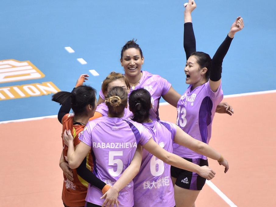 女排聯賽小組賽最終積分榜:同樣是4勝2負,一隊榜首一隊出局