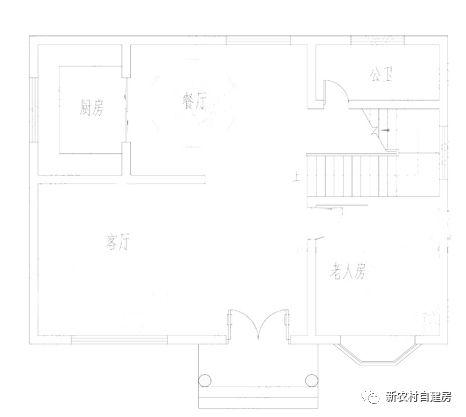 4款农村100平方自建房设计图 是房子更是传家宝 款款
