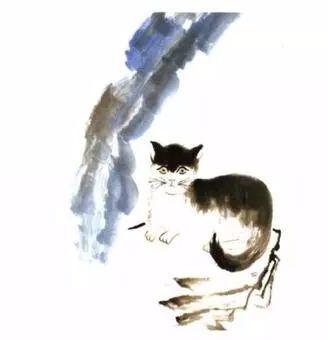 写意小动物的画法:松鼠,猴子,猫