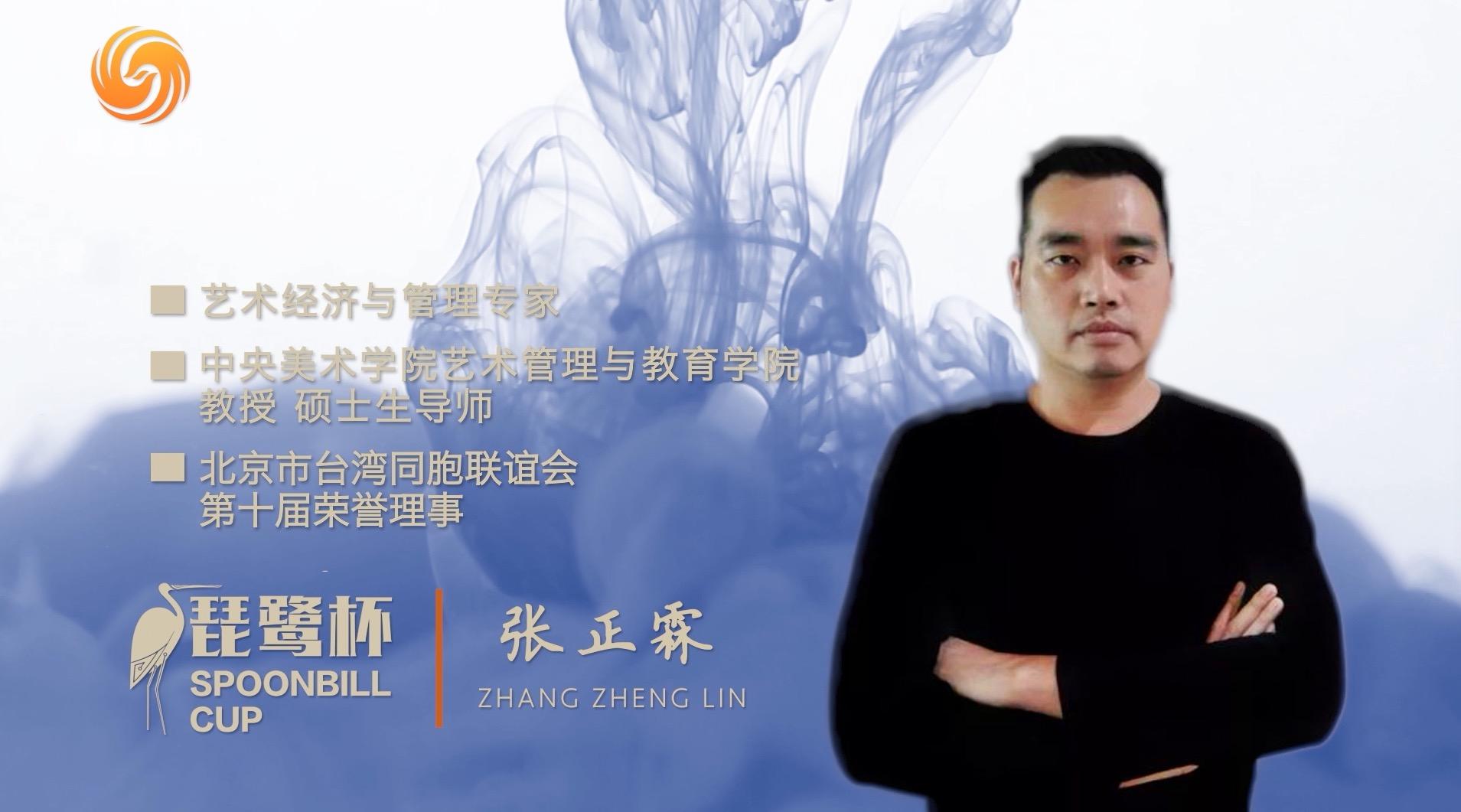 """第二届深圳""""琵鹭杯""""丨演讲嘉宾 张正霖"""