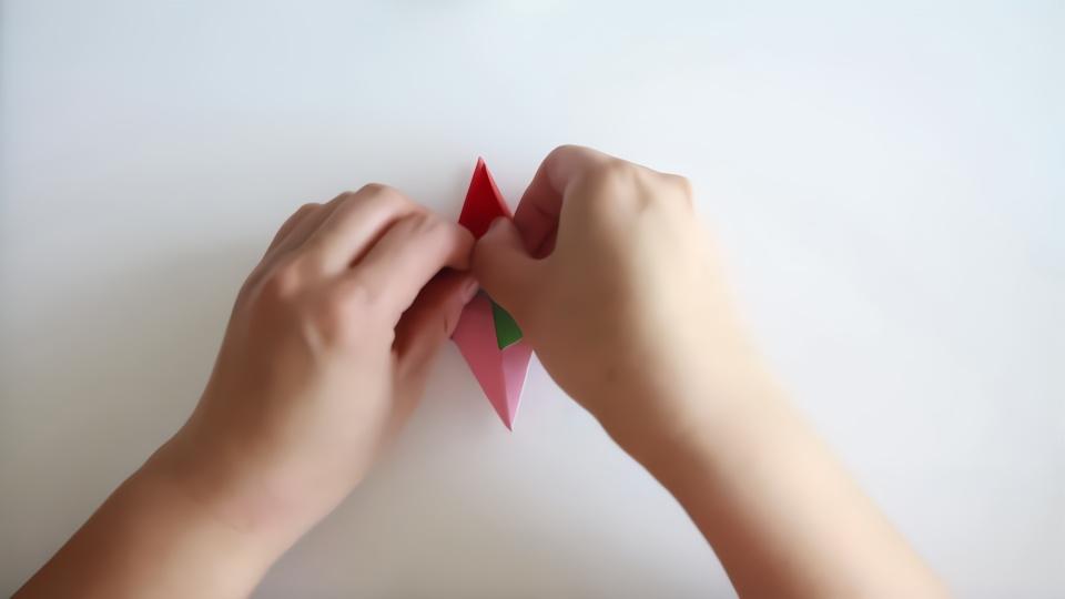 折纸拼接盒子步骤图解