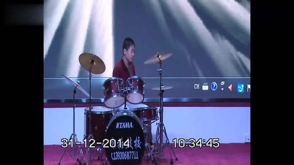 架子鼓表演:《逆战》