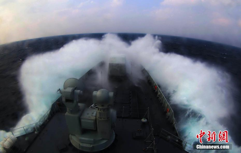 中国海军多架战机在西太平洋演练 日战机紧急升空 - 天在上头 - 我的信息博客