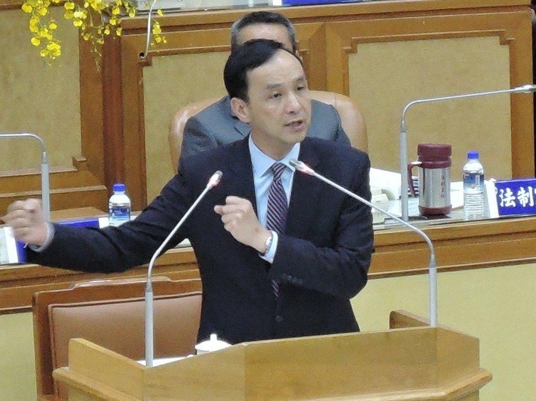 新北市长朱立伦。(图片来源:台湾《联合报》)