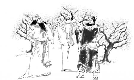 刘备的惠陵 关羽衣冠庙 张飞桓侯祠