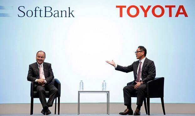 丰田牵手软银 联合开发自动驾驶技术