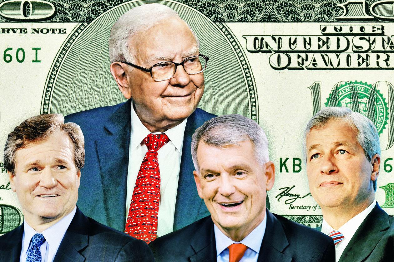 巴菲特为大型银行股背书 这七大标的值得关注(图)