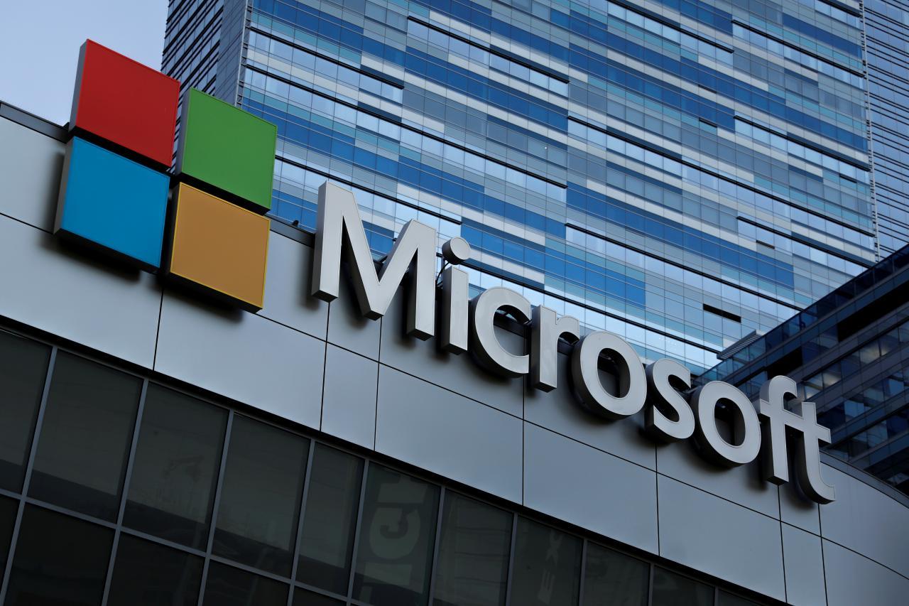 此消彼长 微软市值增至创纪录8160亿美元逼近苹果