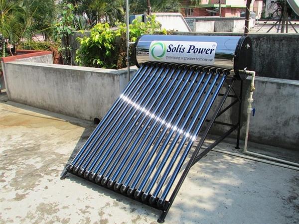 环保又卫生的太阳能热水器最近几年受冷落了
