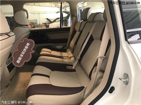 18款中东版白色丰田酷路泽4000现车实拍