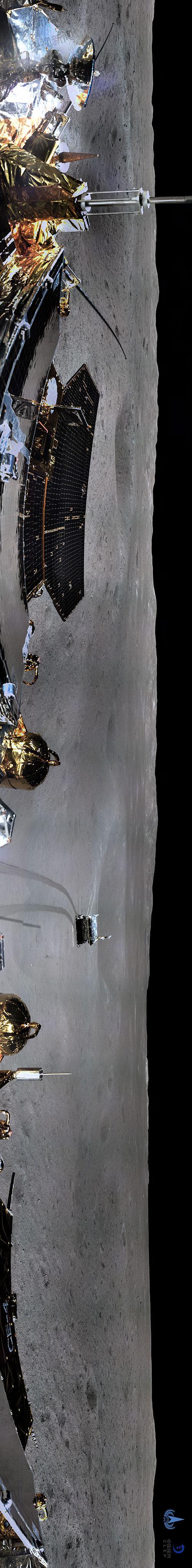 终于真相了?月球背面全景图是怎么回事?360度环拍真相还原月球全景