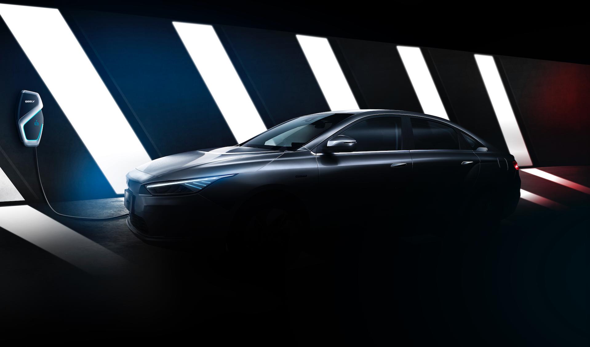 吉利全新纯电轿车官图曝光 空气动力学设计带来超低风阻
