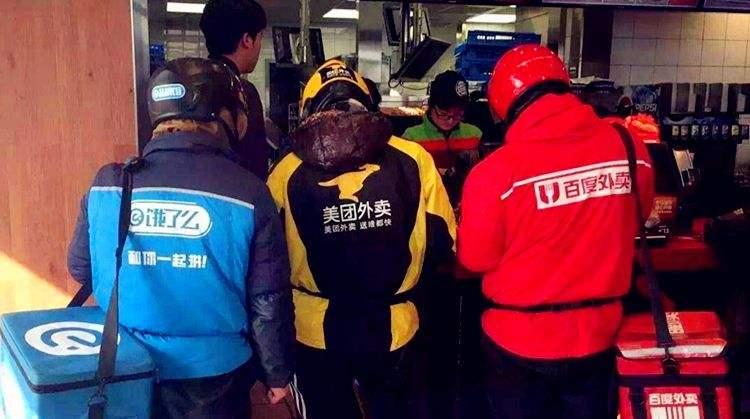 加价留人、选边站队 春节外卖难背后的平台大战
