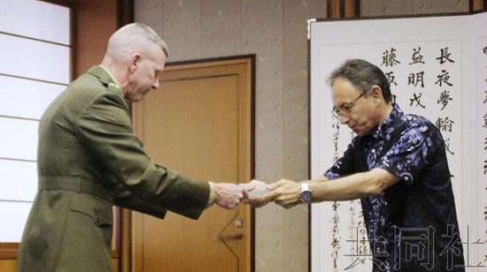 驻日美海军陆战队司令就队员和日本女性死亡致歉