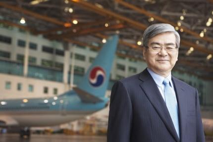 赵亮镐。来源:大韩航空官网