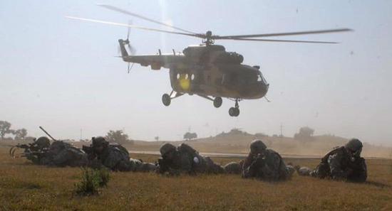 印度空军的米-17直升机