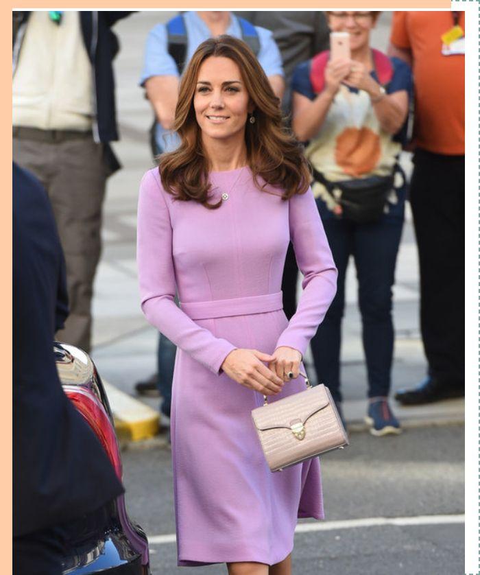 趁着梅根怀孕产子 凯特王妃开的穿搭有了新的变化...
