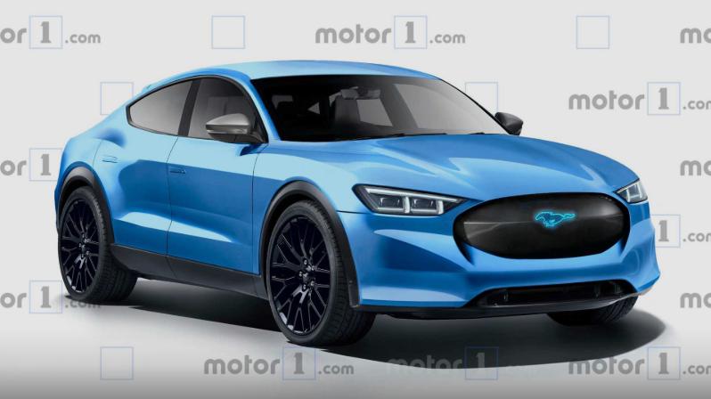 福特野马电动版概念图发布