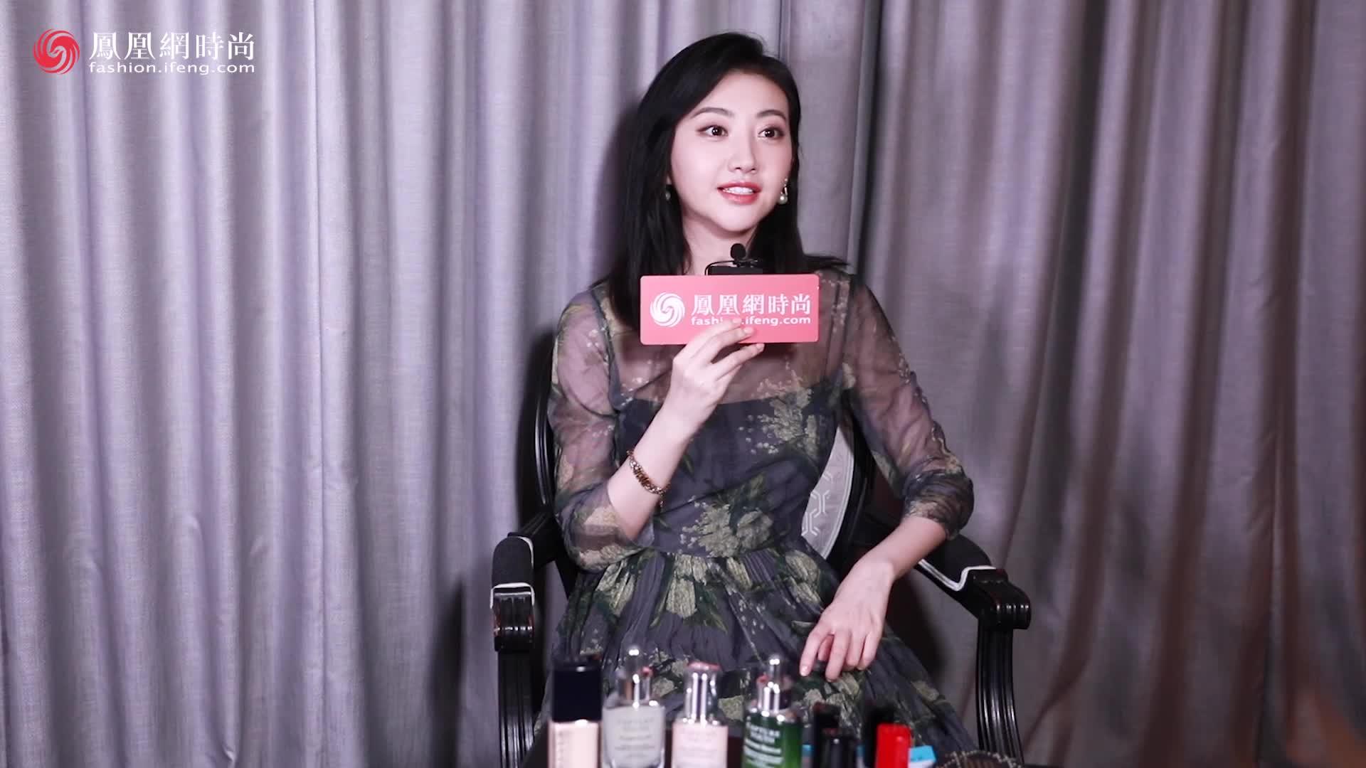 凤凰网时尚专访景甜