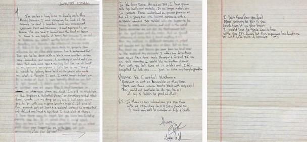 麦当娜分手信拍卖怎么回事 麦当娜和前男友Tupac分手原因揭秘