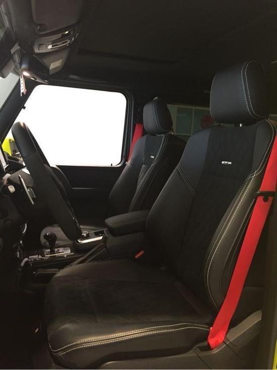2019款墨版奔驰G500 4X4现车实拍详解