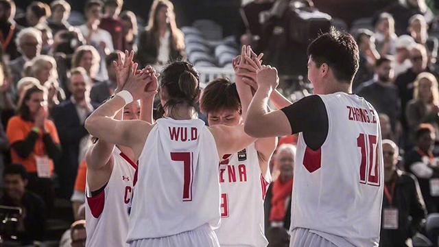 创造历史!中国3x3女篮勇夺世界杯冠军
