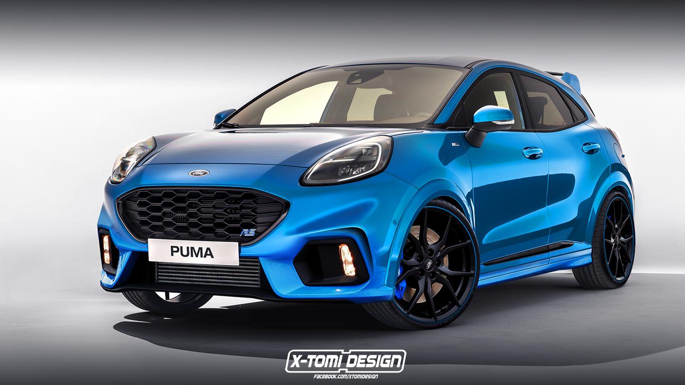福特Puma RS渲染圖曝光 將搭載1.5T三缸發動機