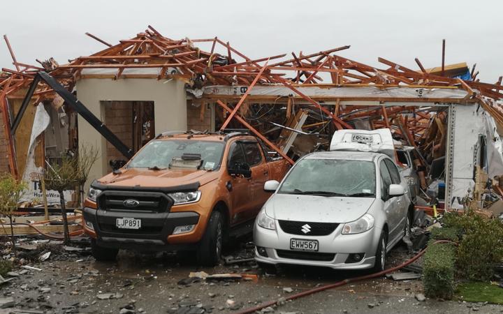 新西兰基督城发生大型瓦斯爆炸