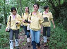 2008中华小姐四川关爱行动