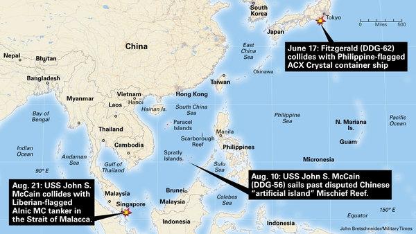 王云飞:撞船美舰都来过南海 并非天谴却是种因得果