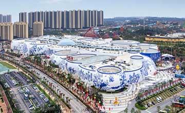 中国第一个青花瓷建筑横空出世 耗资400亿 网友炸锅了