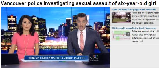 6岁女童在学校被诱骗出去遭性侵 校方过一周才说