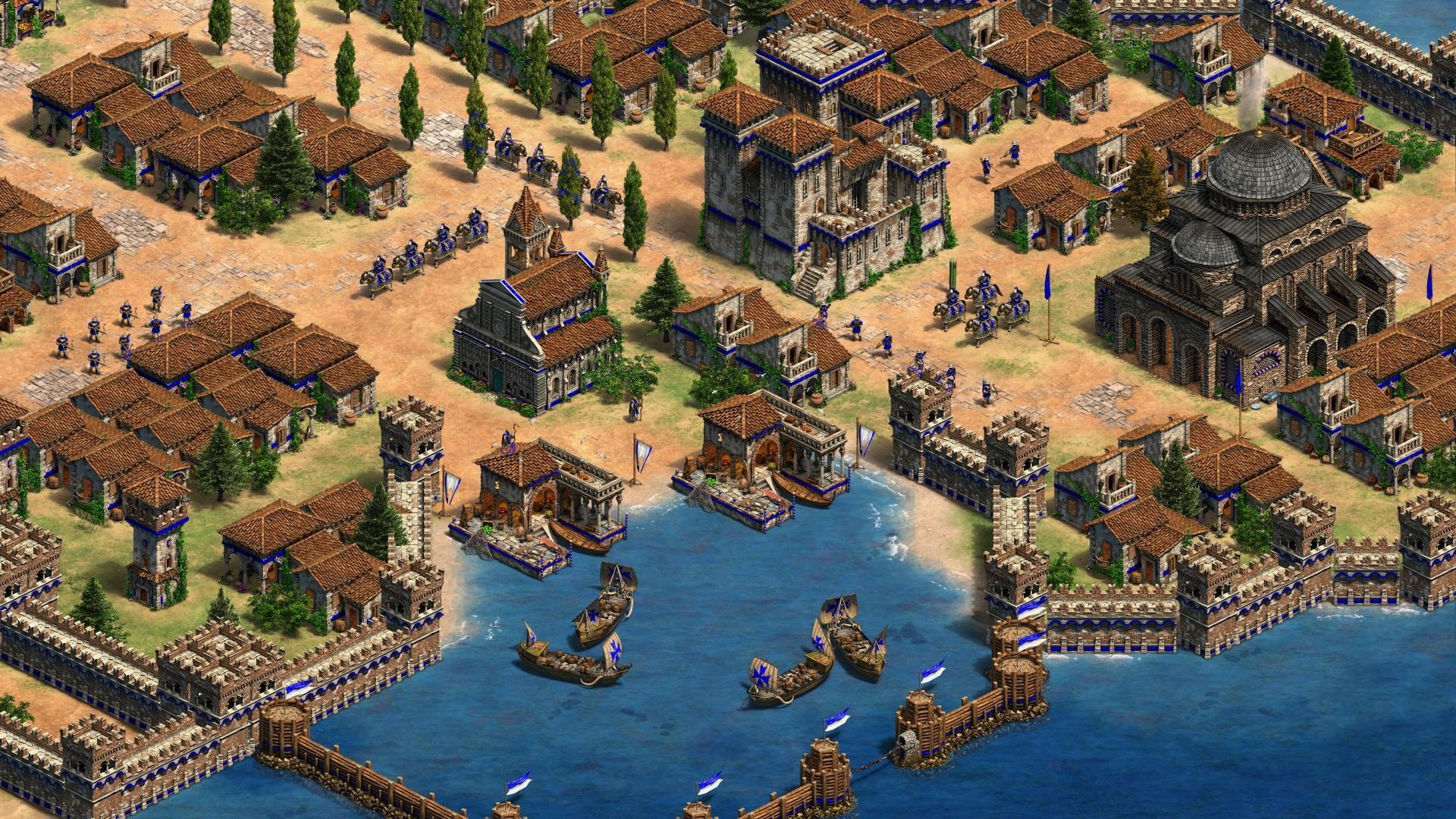 军事资讯_《帝国时代2:最终版》正式发布 Steam先行试玩_凤凰网游戏