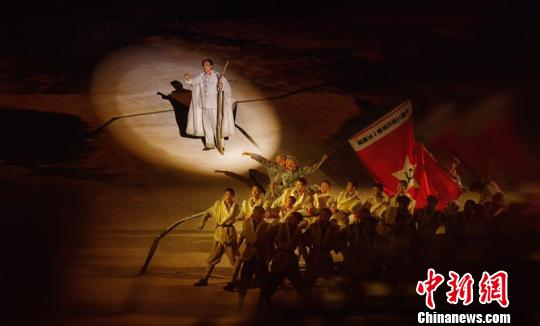 中国出了个毛泽东7_《中国出了个毛泽东》实景演出600场 全面反映长征精神_凤凰资讯